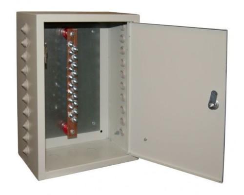 Ящик ГЗШ21-10-250А(медь3х20до275Ампер)10присоединений IP31