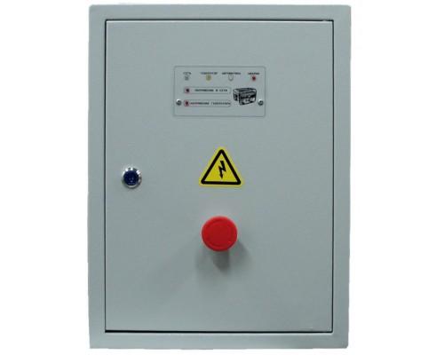 Щит АНТИКРИЗИС- 40 (ЩАЗгАG-3-3-40-ANS-105) номинальный ток 40А 18кВт для 3-х фаз на контроллере ANS-GROUP ANS-105 автоматы и контакторы Россия