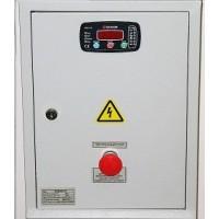 Щит  БЮДЖЕТ-25 (ЩАЗг-3-3-25-DKG-116) номинальный ток 25А 12кВт для 3-х фаз на контроллере DATAKOM DKG-116 автоматы и контакторы Россия-Китай