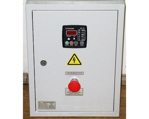 Щит ЭКОНОМ-10 (ЩАЗг-3-3-10-DKG105) номинальный ток 10А 5кВт 3-х фазный на контроллере DATAKOM DKG-105 автоматы и контакторы Россия-Китай